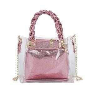 Handbags - mini clear bag